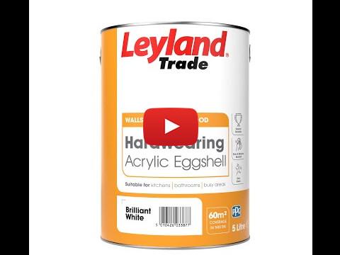 Hardwearing Acrylic Eggshell